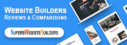 Superb Website builders banner