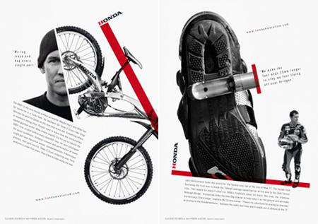 posters honda bike