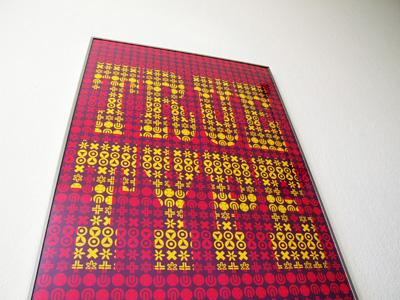 true type poster