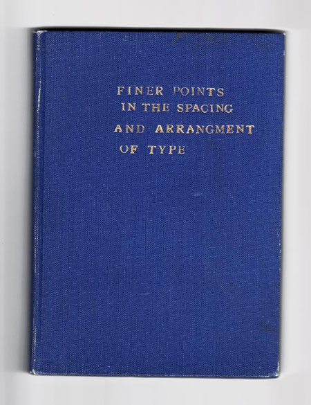 finer space in typography