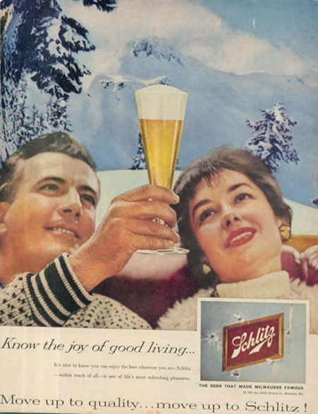 vintage beer advertising