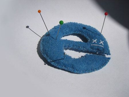 internet explorer voodoo plush