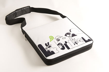 Timbag, personnalized bag for your MacBook Pro