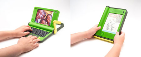 100 dollars laptop old design