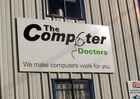 computer doctors logo