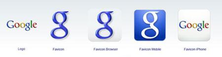 Google's new favicon