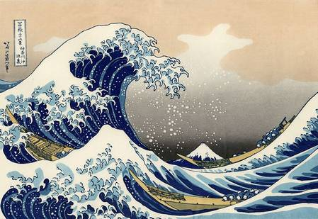grande vague hokusai