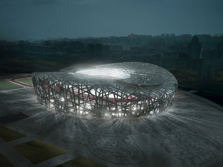 Design at the Beijing Olympic games