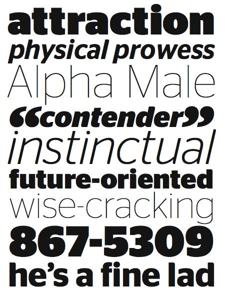 Stag Sans, by Christian Schwartz
