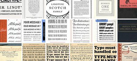 Depression Press typecase Specimen: a photoset of flickr