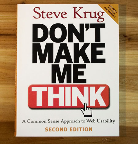 Book review: Don't Make me Think by Steve Krug