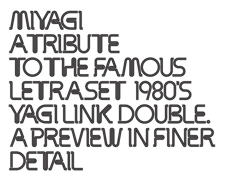 An interview with Alex Haigh, type designer