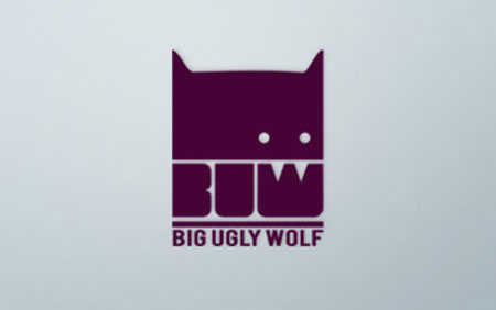 big ugly wolf logo