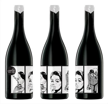 Principles of Graphic Art |Wine Bottle Graphic Design