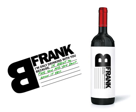frank b wine packaging