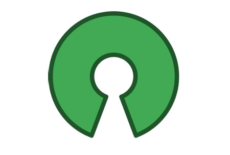Open source logotyp