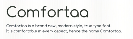 comfortaa 30 high quality free fonts for great designs