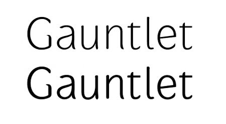 gauntlet 30 high quality free fonts for professional designs
