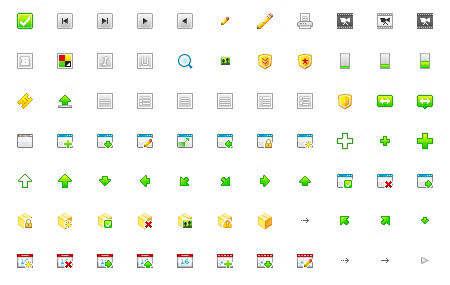 15 wonderful set of icons for web design