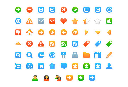 Icojoy's free web development icons