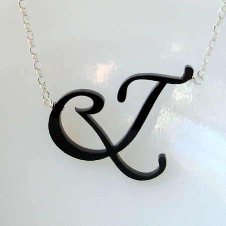 et flourish necklace