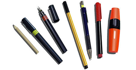 pen pencil marker free vector