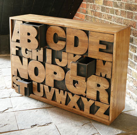 15 objects with typography