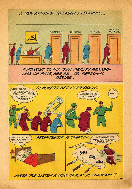 anti-communist comic book