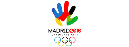 Logos of the candidate cities for the 2016 Olympics