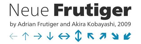 Save 50% on Neue Frutiger value packs
