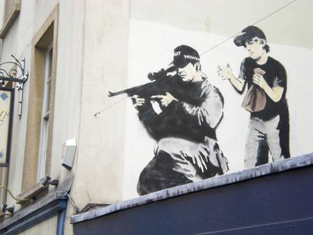 banksy sniper