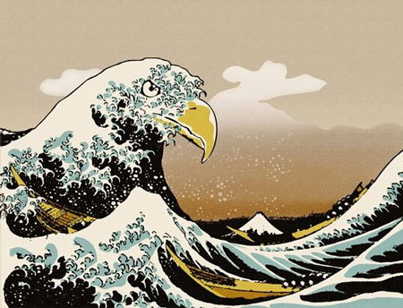 the great kanagawa eagle