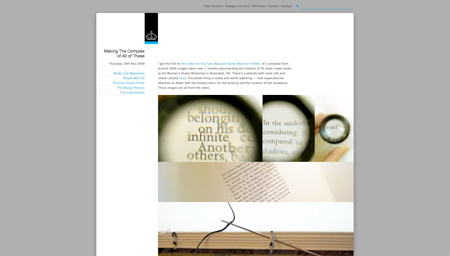 ministry of type screenshot