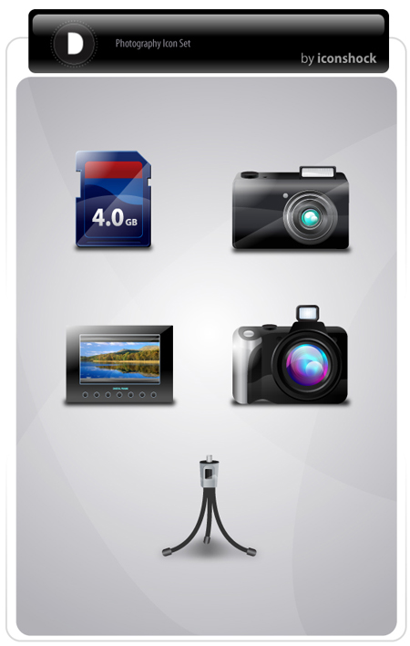photography iconset