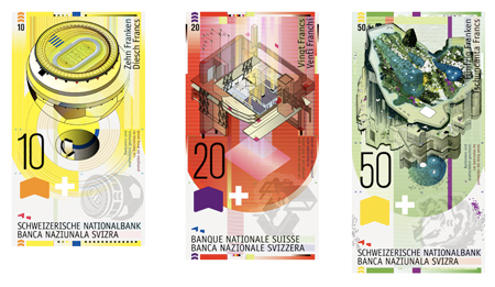 Swiss bank notes contest winners
