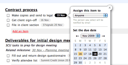 Implementing to-do's due date, thoughts of a UI designer