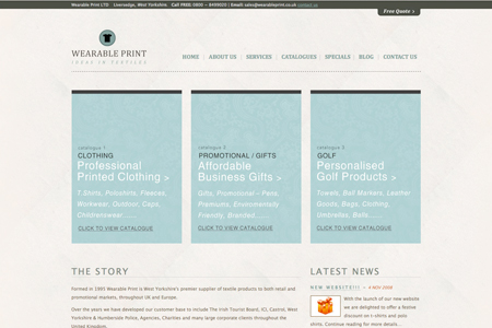 20 great corporate websites made with WordPress