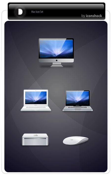 Free Mac icons set