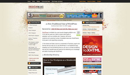 The best design articles of 2009