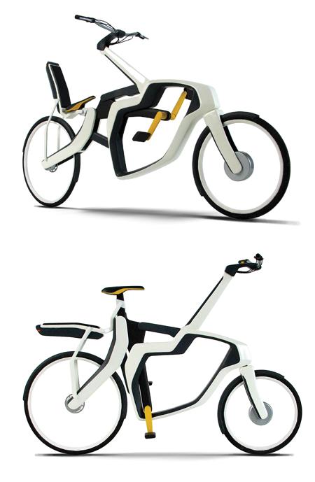 variable frame bike