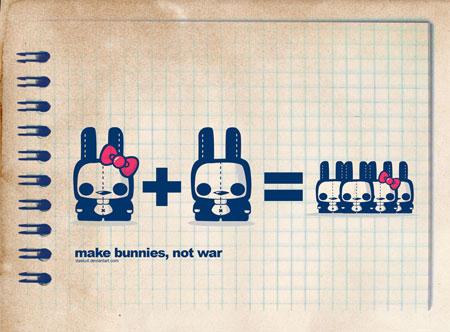 Make bunnies not war
