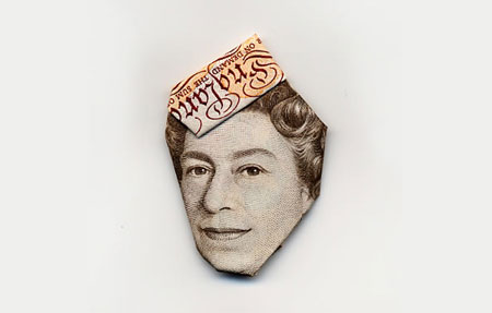 Origami money
