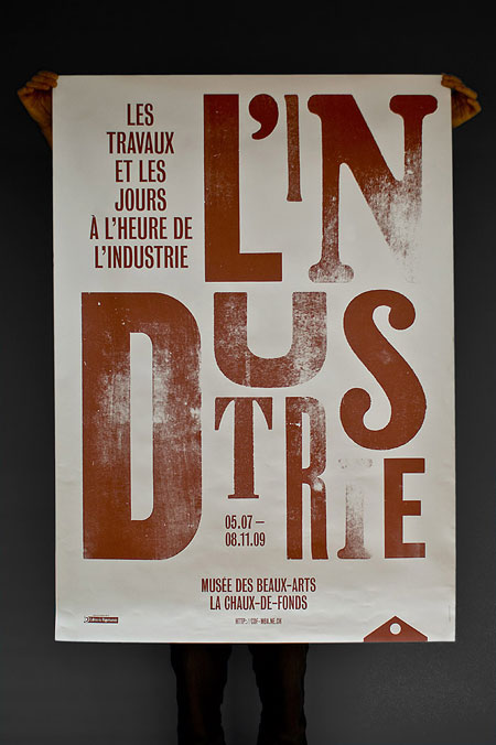 L'Industrie poster