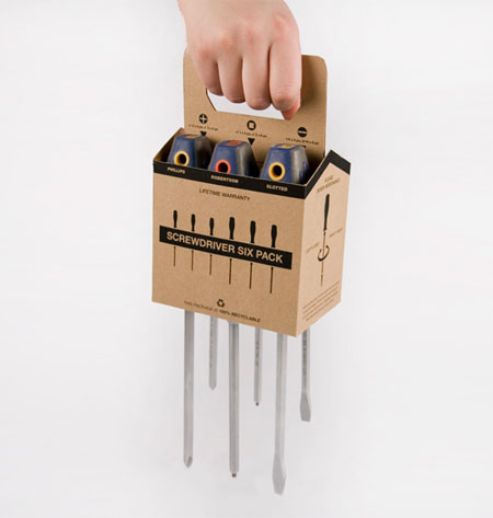 Screwdriver six pack