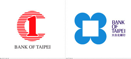Bank of Taipei logo redesign