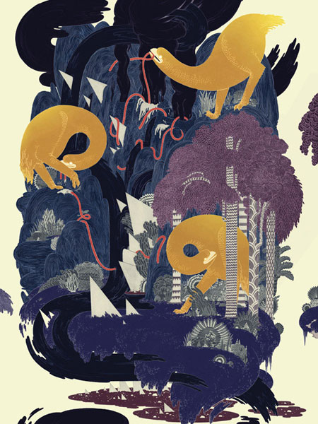 Gorgeous print by Micah Lidberg