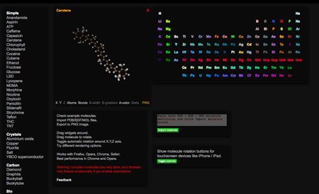 HTML5 CanvasMol
