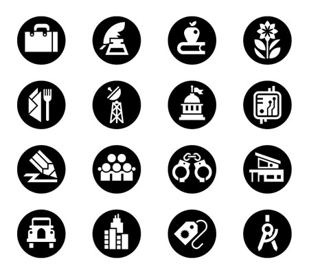 Monocolumn icons