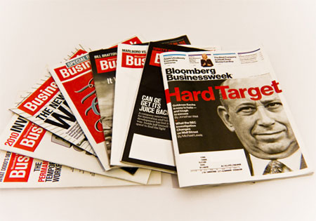 Bloomberg Business Week redesign