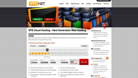New advertiser: VPS.net